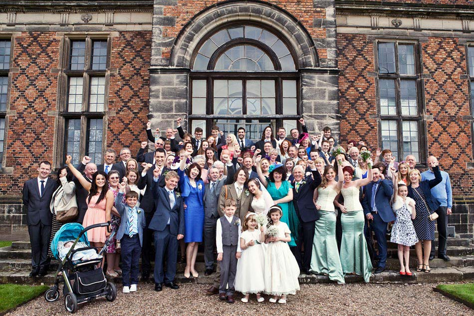 Group Photo at Sudbury Hall