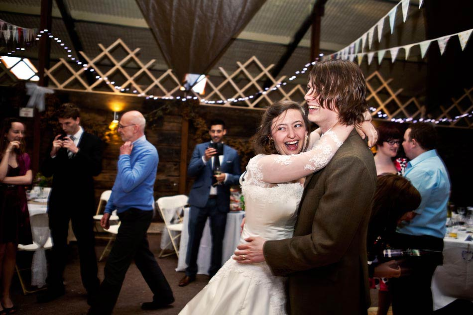 Fun Wedding Photographer Peak District