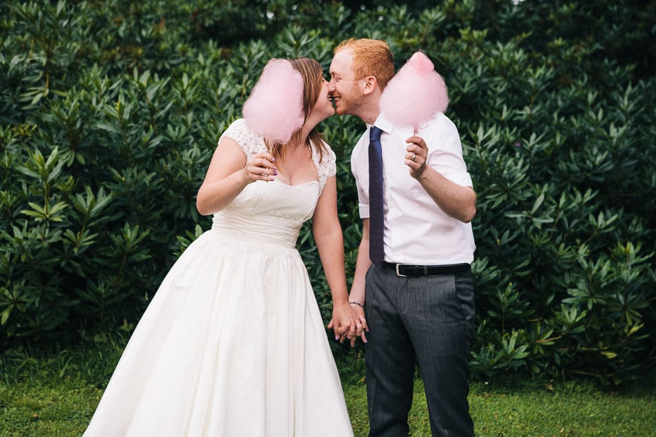 Quirky & Creative Wedding Photo