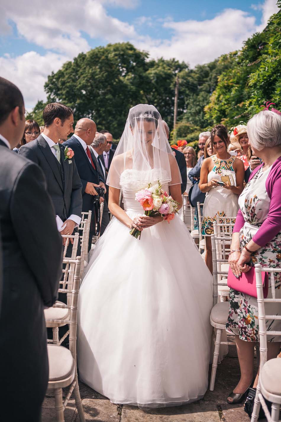 Hilltop Country House Outdoor Ceremony