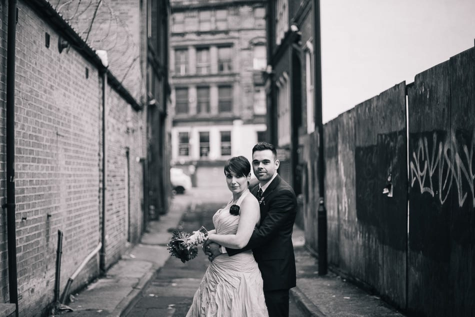 Creative Wedding Photographer Manchester Northern Quarter