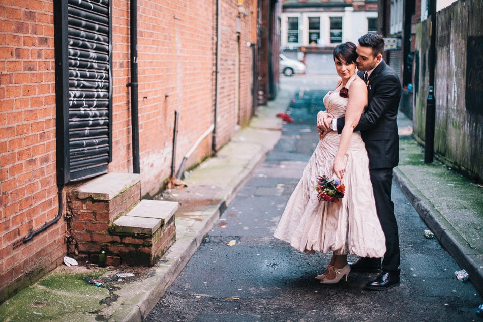Alternative Wedding Photography Manchester Northern Quarter