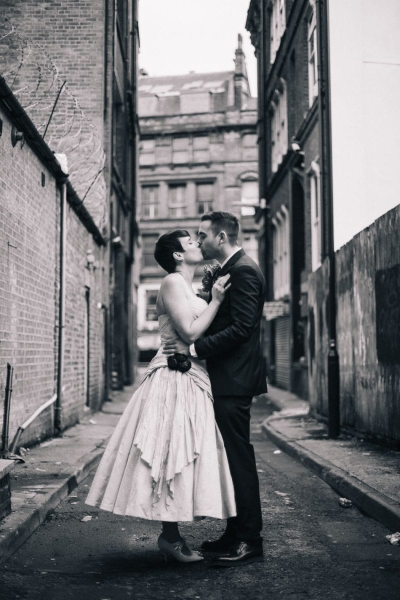 Alternative Wedding Photographer Manchester Northern Quarter