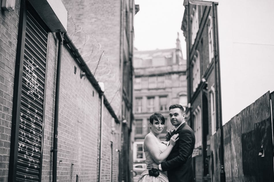 Vintage Wedding Photography Manchester Northern Quarter