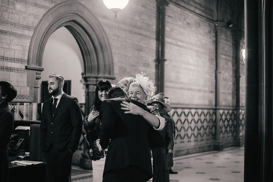 Manchester Town Hall Christmas Wedding