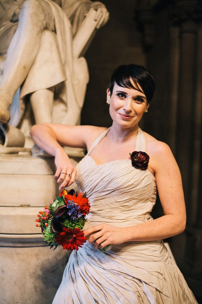 Creative Wedding Photography Manchester Town Hall