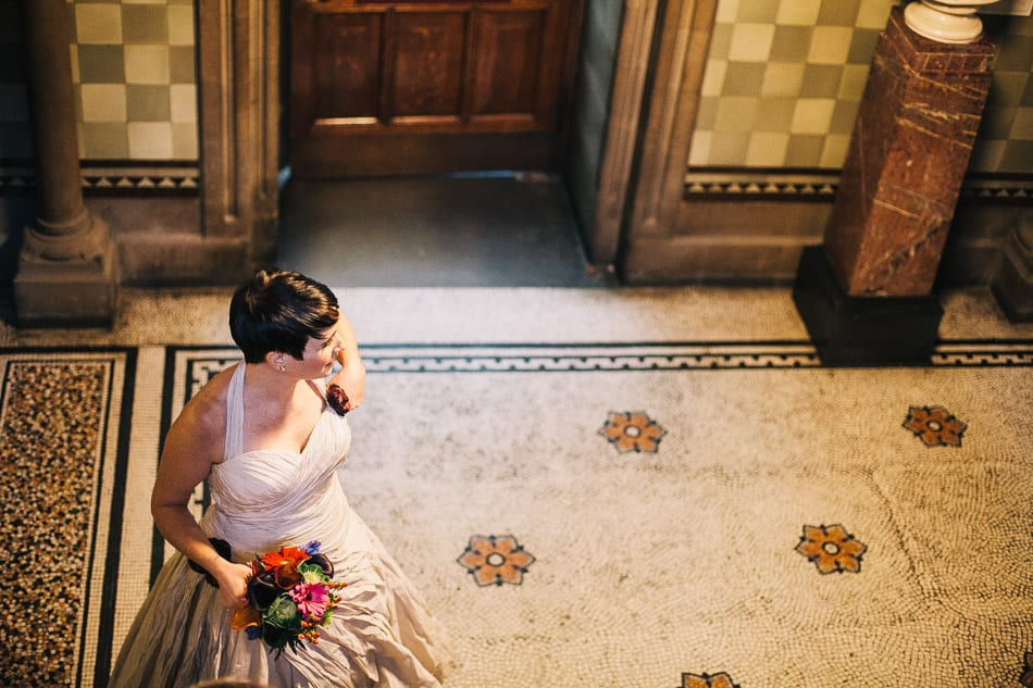 Alternative Wedding Photography Manchester Town Hall