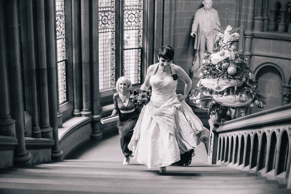 Vintage Wedding Photography Manchester Town Hall
