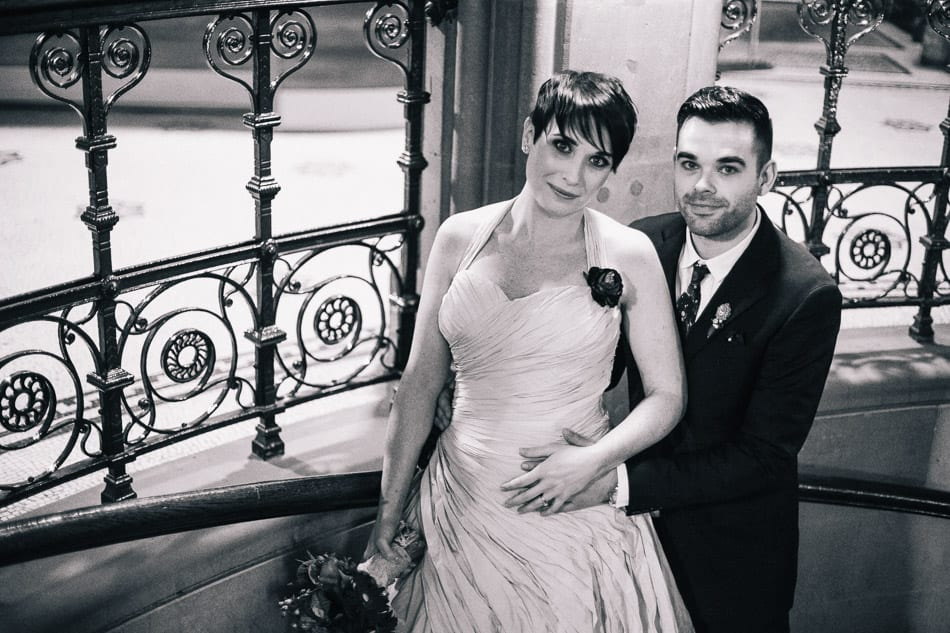 Wedding Portraits at Manchester Town Hall
