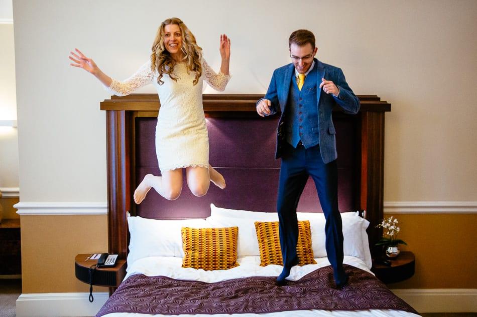 Quirky Wedding Photographer Midland Hotel Manchester