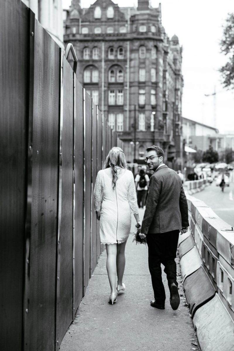 Quirky Wedding Photographer Manchester Town Hall
