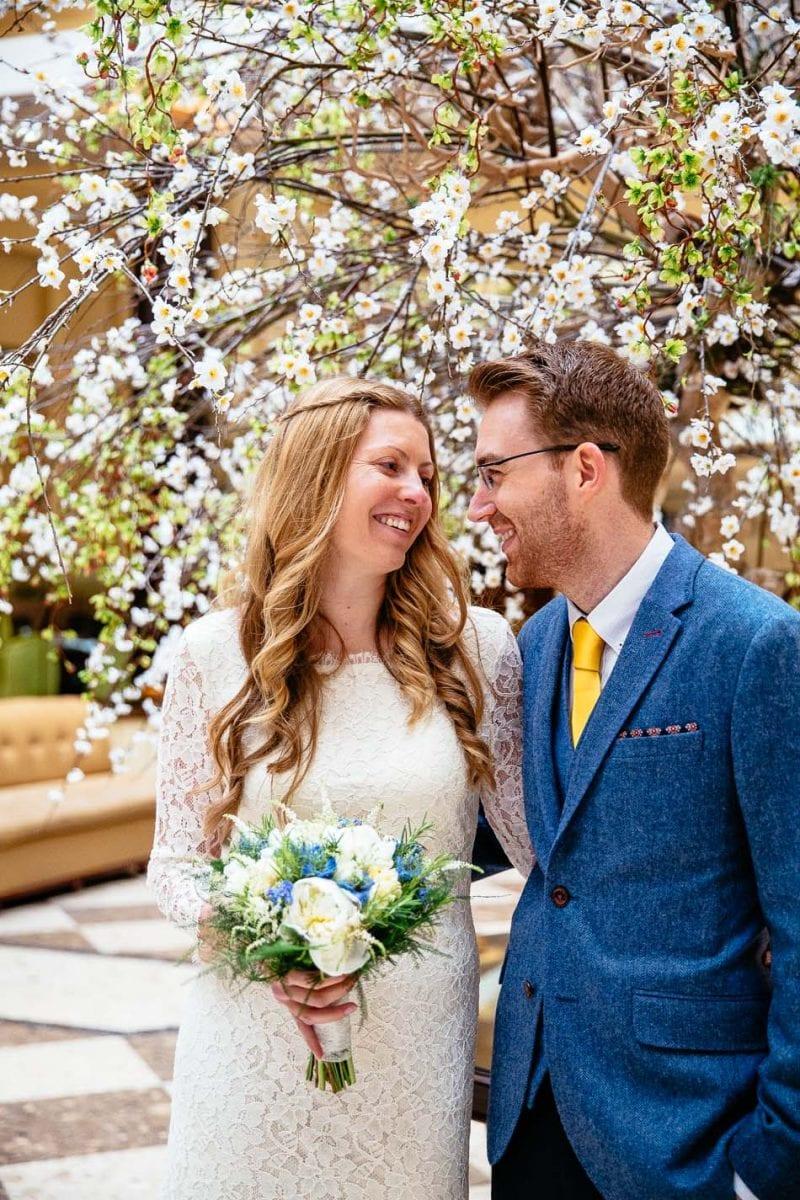 Quirky Wedding Photography Midland Hotel