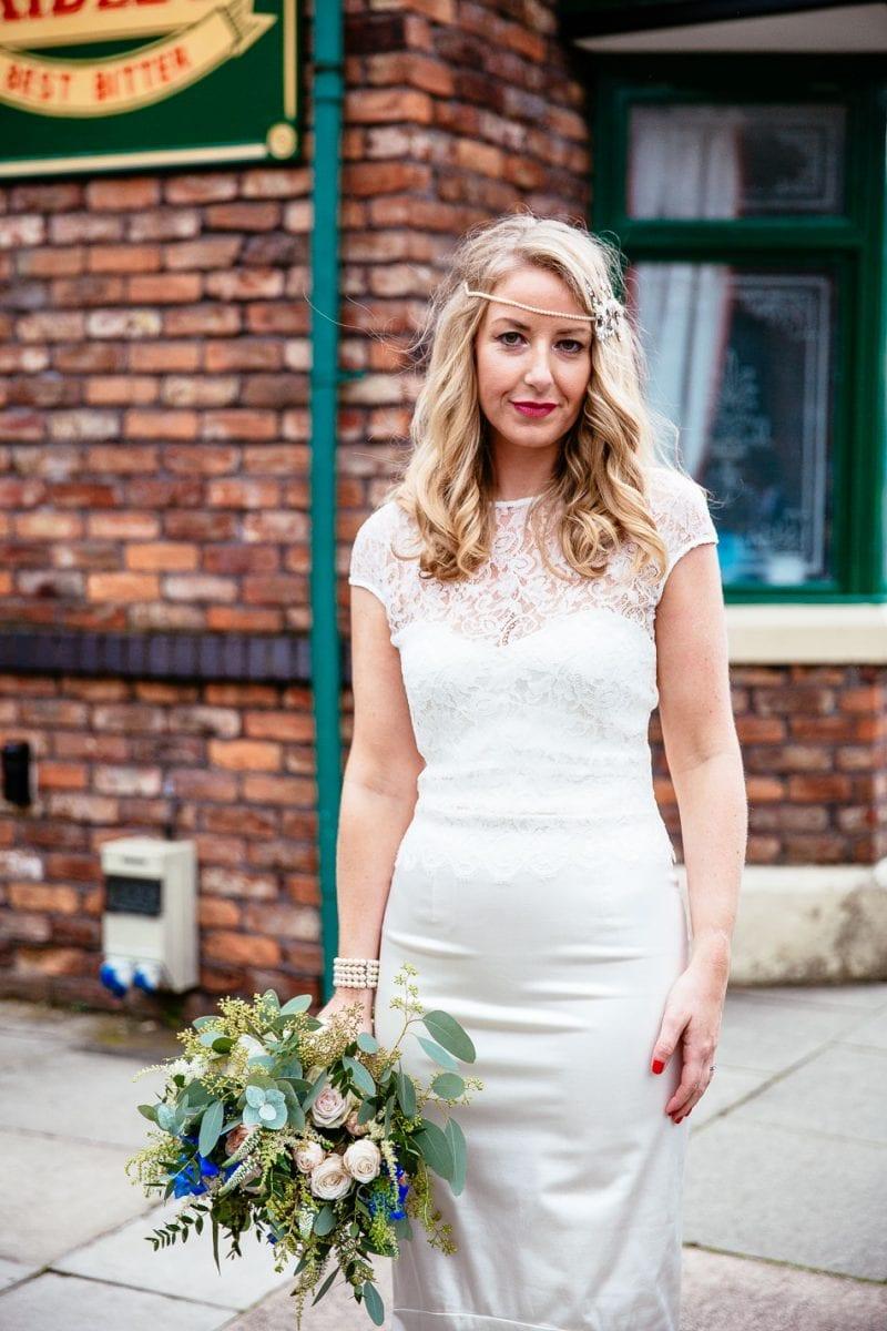 Coronation Street Wedding Photography
