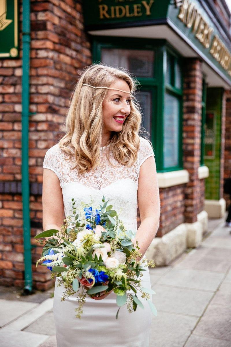 Coronation Street Wedding Photographer