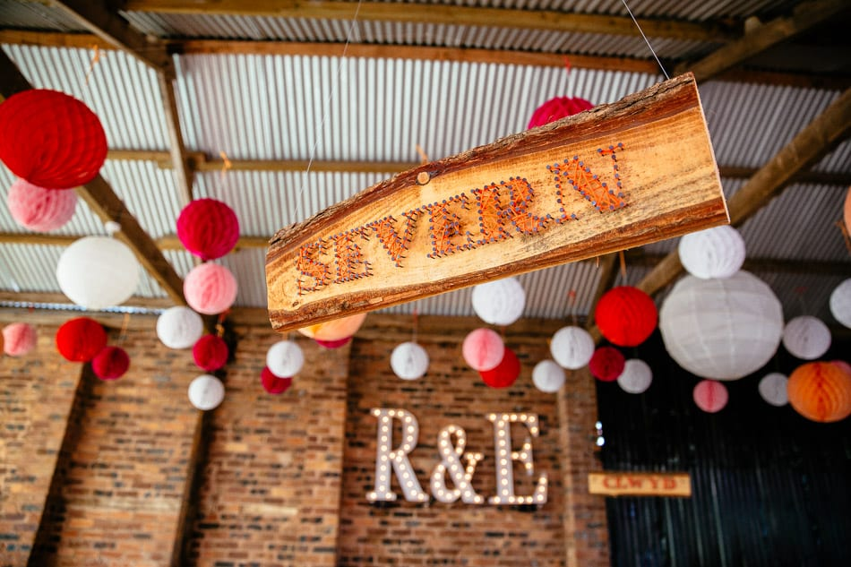 Wooden Wedding Table Names