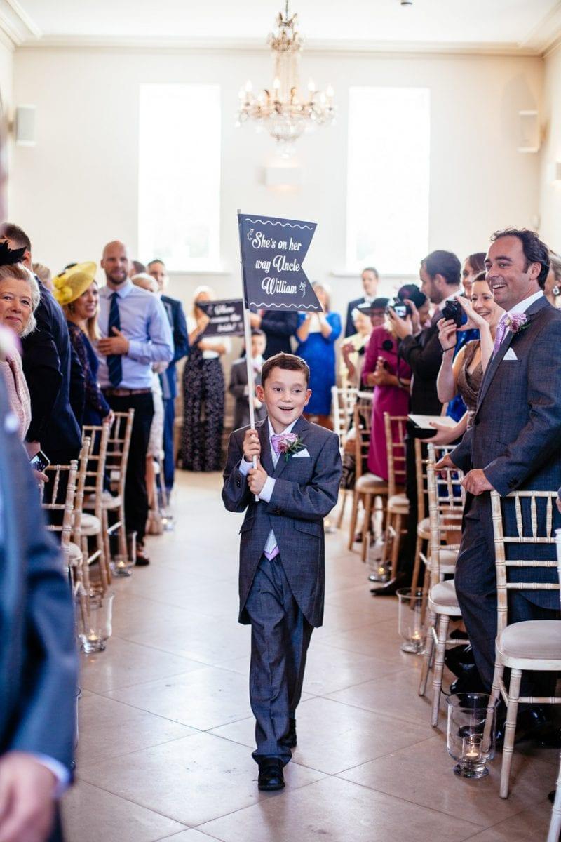 Iscoyd Park Wedding Ceremony