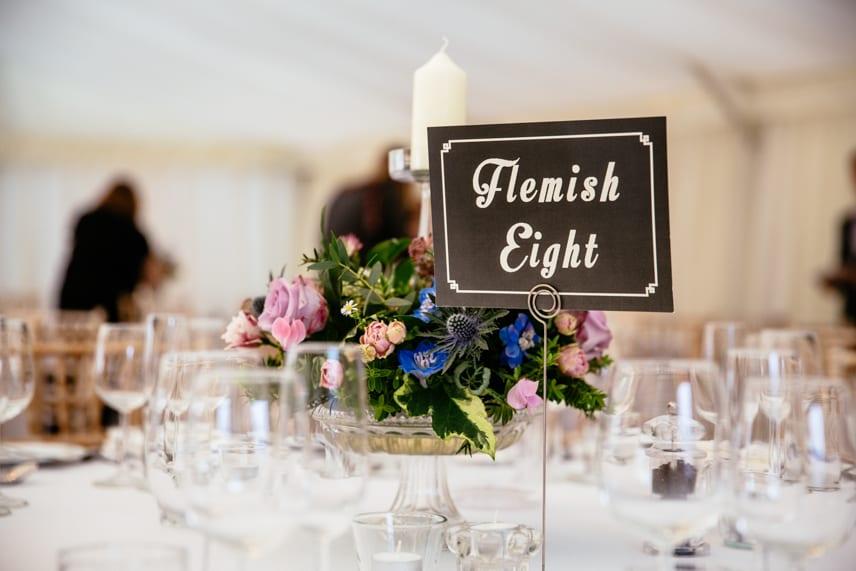 Wedding Reception at Iscoyd Park