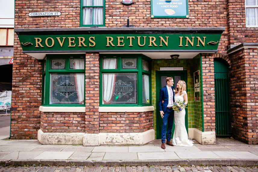 Wedding on Coronation St