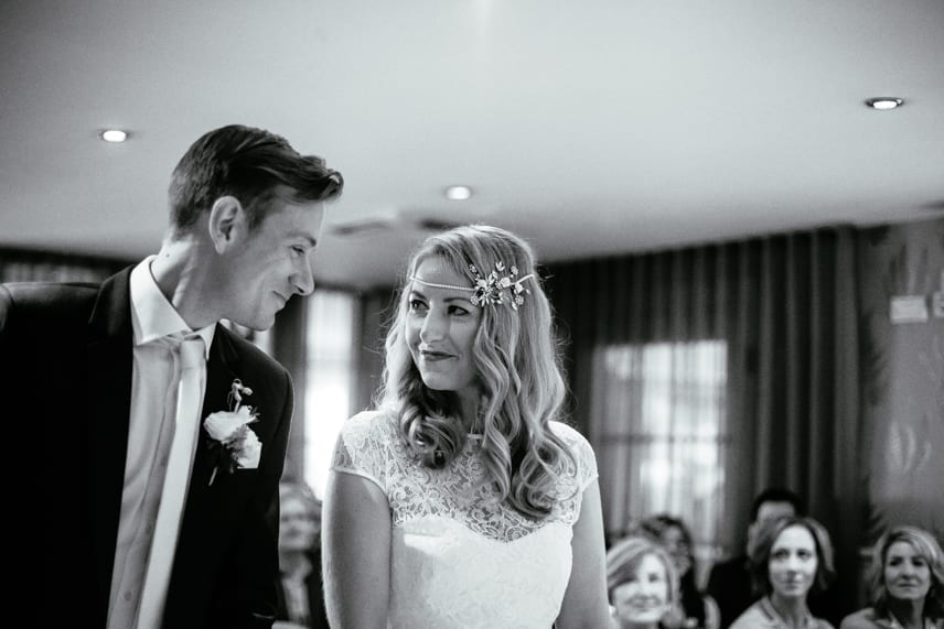 Great John Street Hotel Wedding Ceremony
