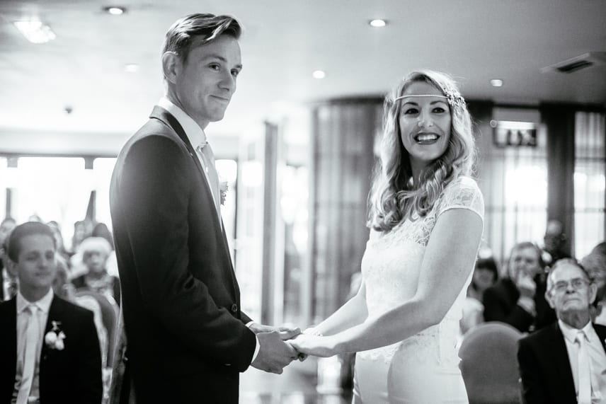 Wedding Ceremony at Great John Street Hotel