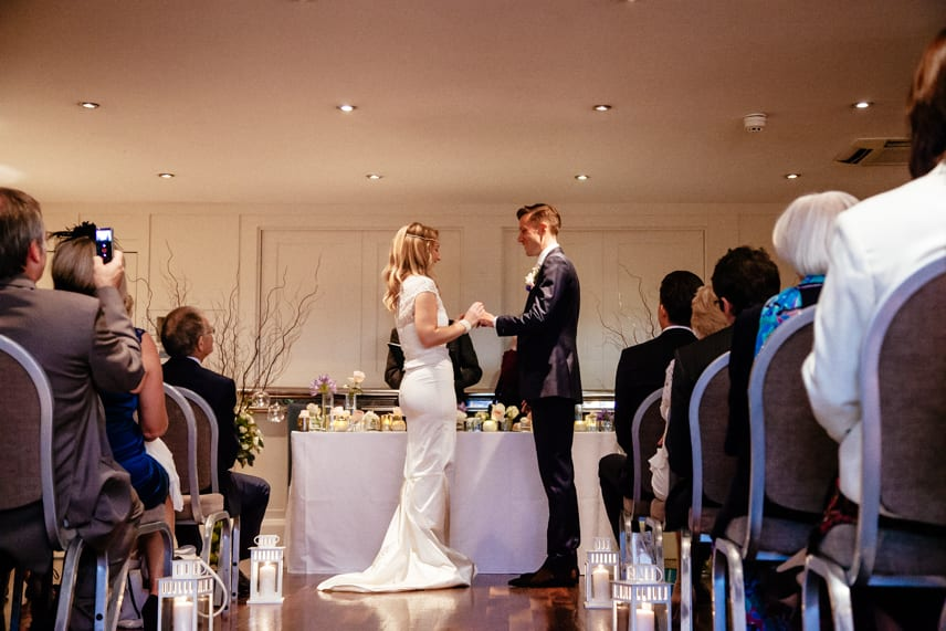 Wedding Ceremony at Great John Street Hotel Manchester