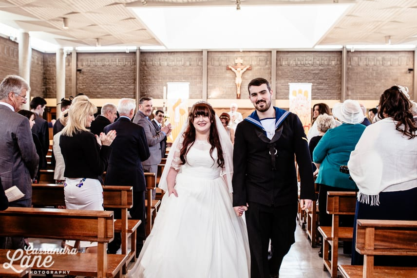 Navy Church Wedding in Liverpool