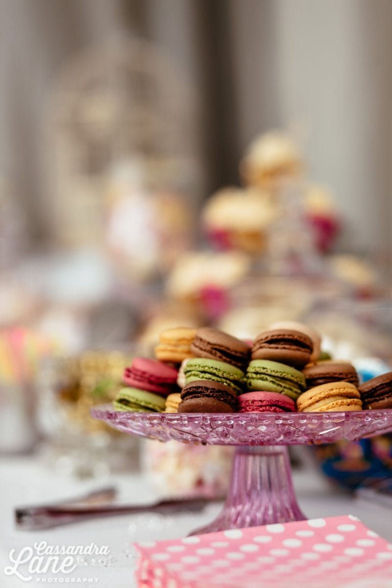 Macarons at a Wedding
