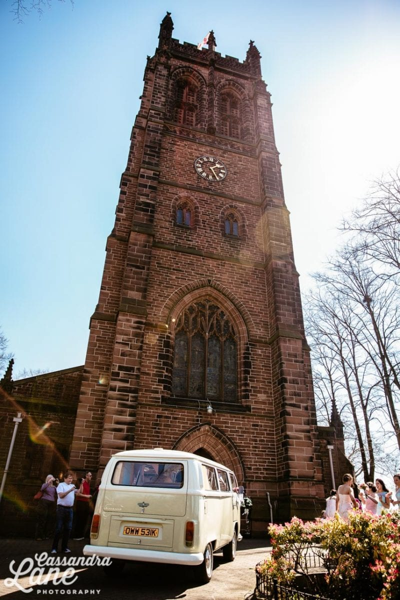 Wedding at All Hallows Church Liverpool