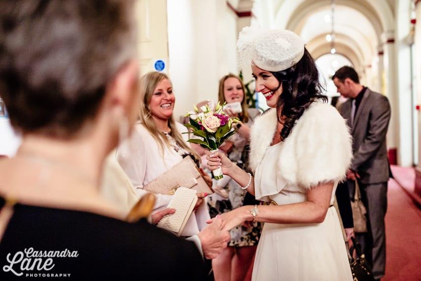 Leeds Town Hall Creative Wedding Photography