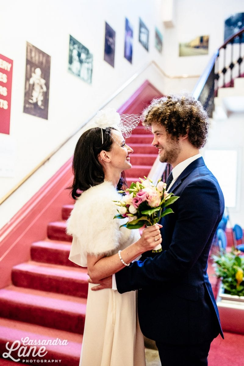 Leeds Town Hall Quirky Wedding Photography