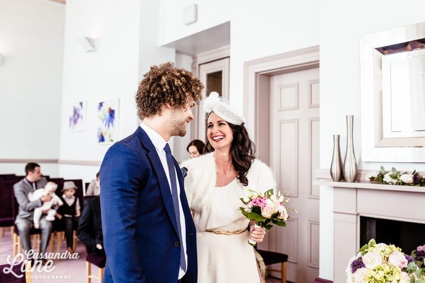 Leeds Town Hall Wedding Ceremony