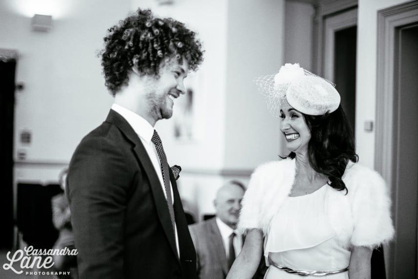 Wedding Ceremony at Leeds Town Hall
