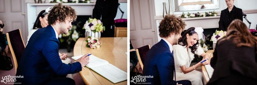 Creative Wedding Photographer Leeds Town Hall