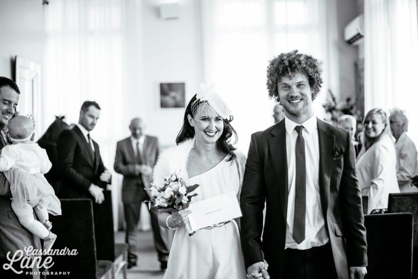 Quirky Wedding Photographer Leeds Town Hall