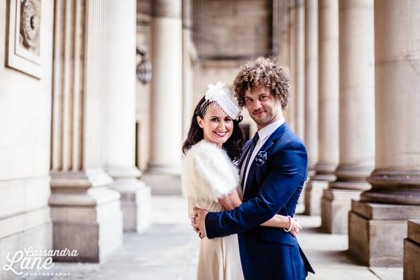 Natural Wedding Photographer Leeds Town Hall