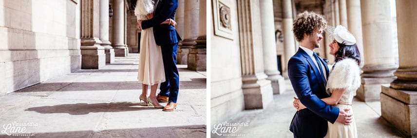Alternative Wedding Photographer Leeds Town Hall