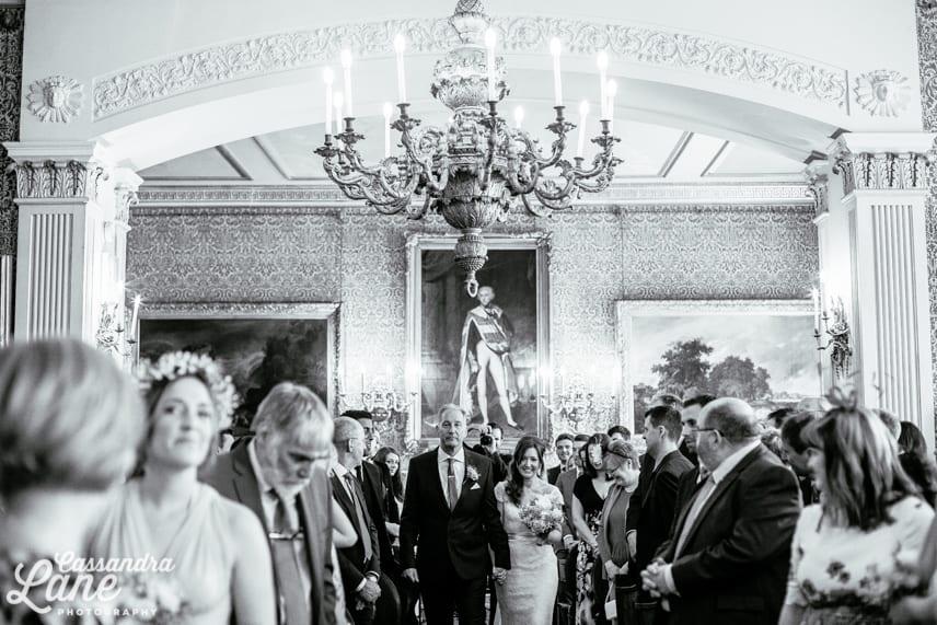Tabley House Wedding Ceremony