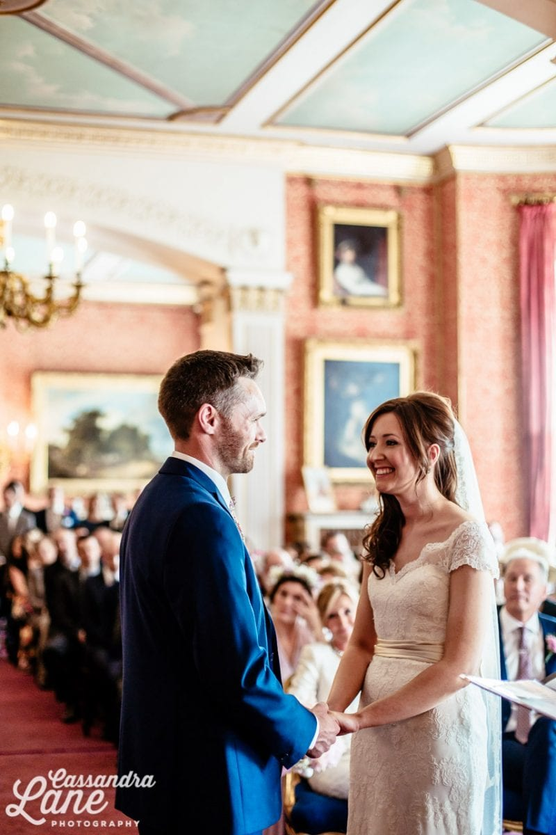 Wedding Ceremony at Tabley House