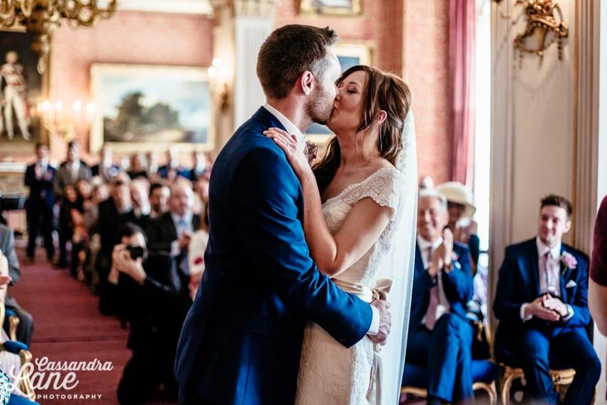 Wedding at Tabley House