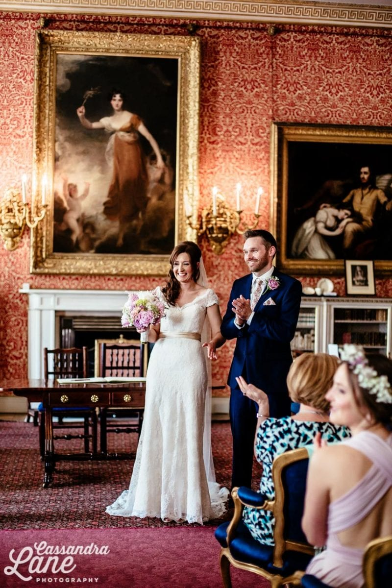 Wedding at Tabley House Knutsford