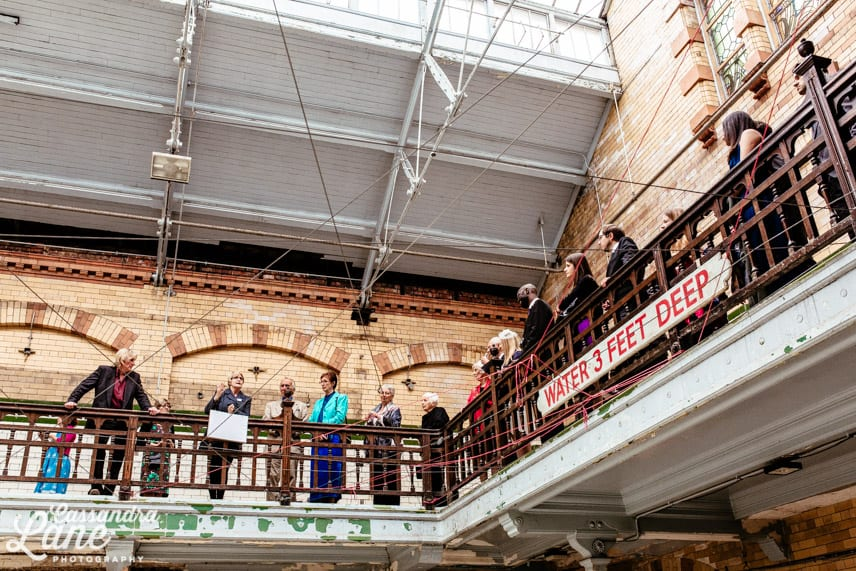 Wedding Parties at Victoria Baths Manchester