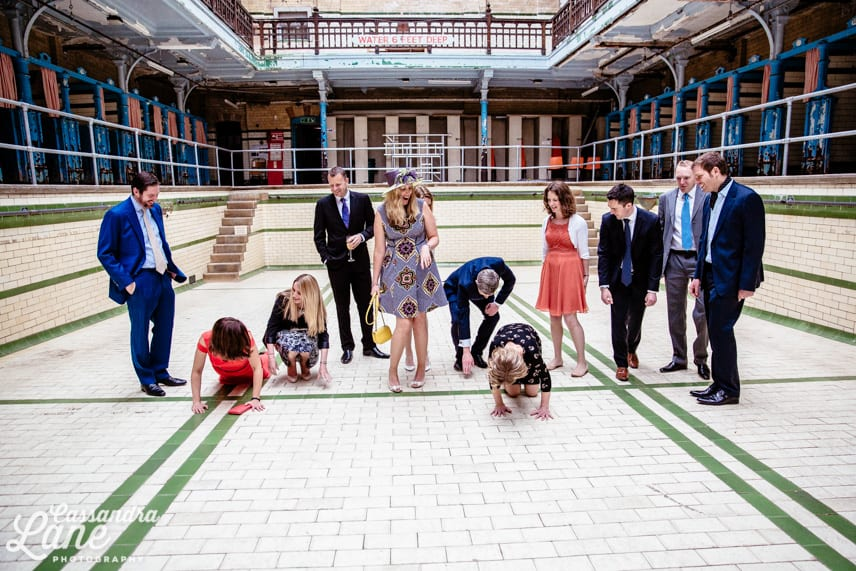 Creative Wedding Photographer Victoria Baths