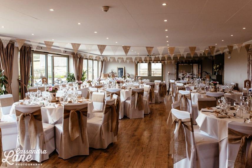 The Fleece Inn Wedding Reception