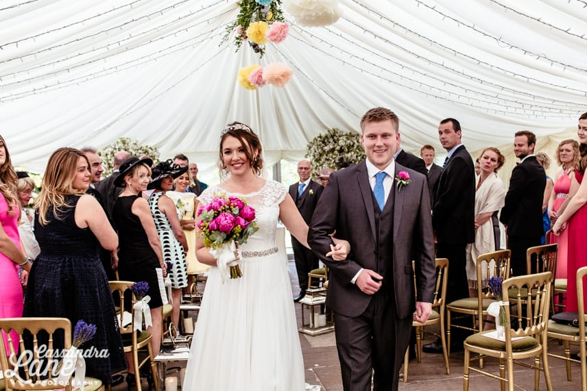 Wedding Ceremony at Inn at Whitewell