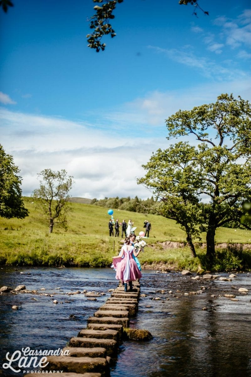 Wedding Photographs at Inn at Whitewell