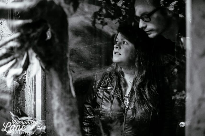 Engagement Shoot in Dudley Zoo