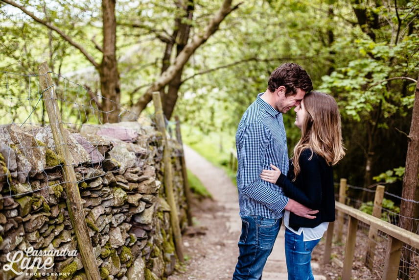 Engagement Shoot in the Lake District