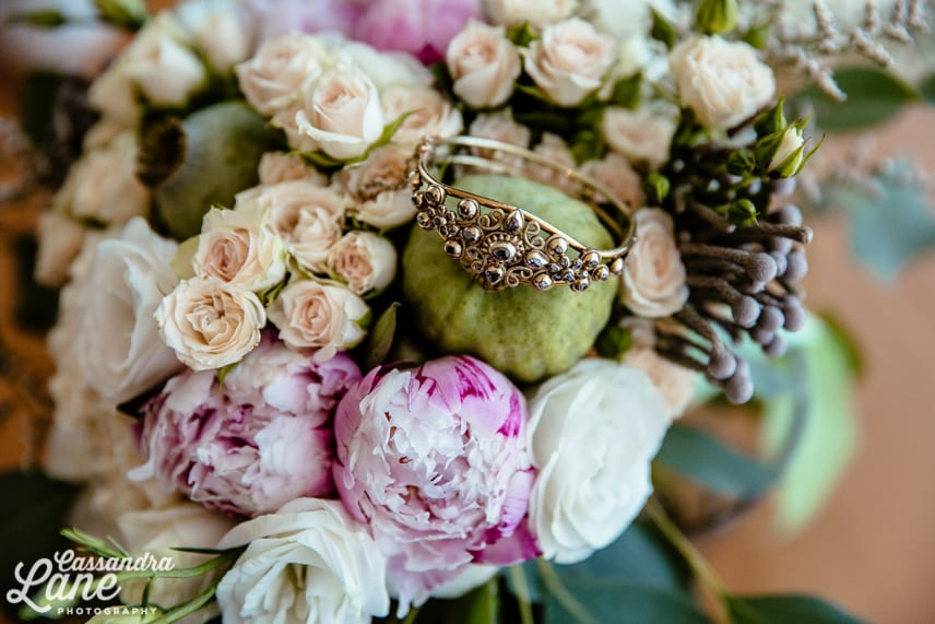 Vintage Bracelet with Bouquet