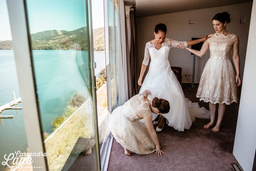 Alternative Wedding Photography Eurostars Rio Douro