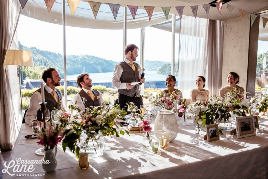 Eurostars Rio Douro Hotel Wedding Reception